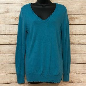 The Limited - teal sweater